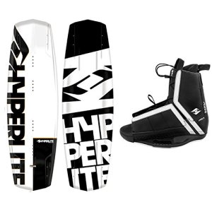New 2018 Hyperlite Wakeboard Agent with Hyperlite Agent Bindings Fits Most Shoe Sizes