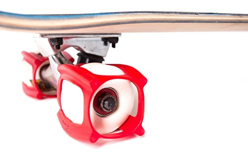 SkaterTrainer 2.0, The Rubber Skateboarding Accessory for Perfecting Your Ollie and Kickflip