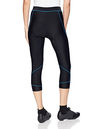 4ucycling Women Premium 3D Padded Breathable ¾ Cycling Tights STANDARD AMERICAN SIZE,PLEASE CHOOSE YOUR SIZE ACCORDING TO YOUR WAIST, HIPS and INSEAM from the SIZE CHART.Exercise and Train with MAX COMFORT - 4ucycling ladies bike pants is the best solutionto appreciate solace without limitations, practice easily and look elegant, all in the meantime! Produced using premium quality nylon 82% and spandex 18%, wearing it influences you to feel good and it fits pleasantly with the state of your legs  HIGH ELASTICITY, BREATHABLE-Our versatile cycling pants mirrors the common flexibility of your skin, permitting full scope of movement when you practice with the goal that you don't need to stress that it gets torn effectively or feel limited to your activities. Not at all like other ladies cycling tights, our outline enables your skin to inhale effortlessly which gives ideal help to your skin even in the wake of a prolonged day of activity wearing it.