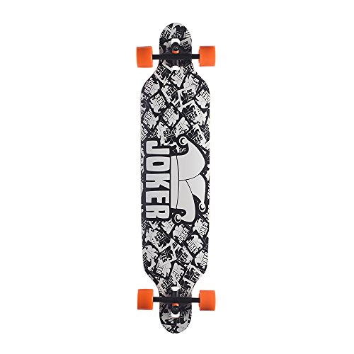 Backfire New Cruiser Drop Through Longboard Complete Professional Longboards, black and white Backfire New Cruiser Drop Through Longboard Complete Professional Longboards, black and white.   Backfire longboard, 8 employ Canadian maple deck with 3 colored layer  Wheels: 70x51mm 75% bounce back, 83a hardness, perfect for cutting, cruising, freerider  Truck: 7 inch, inverted.356-t6 aluminum compound base plate and hanger  Bearings: Abec-9 rapid unique bearing, loading with speed cream lubricants  Grip:Os-800 grasp tape, pac substrate, glue to the board more grounded, hard and sharp of silicon carbide