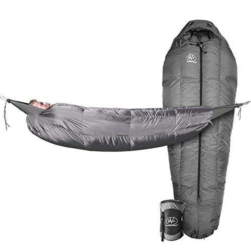 Outdoor Vitals StormLight 15 Degree MummyPod Sleeping Bag for Hammock or Ground Camping
