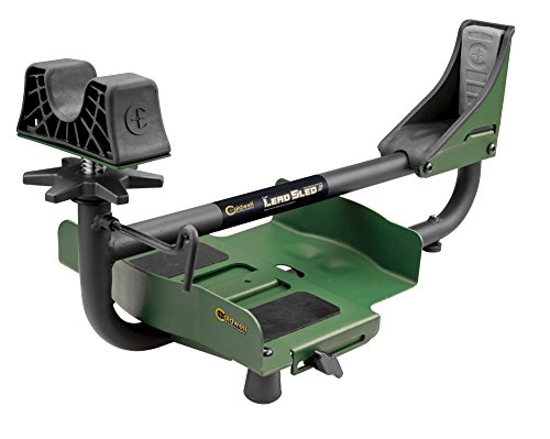 Caldwell Lead Sled 3 Adjustable Ambidextrous Recoil Reducing Rifle Shooting Rest for Outdoor Range