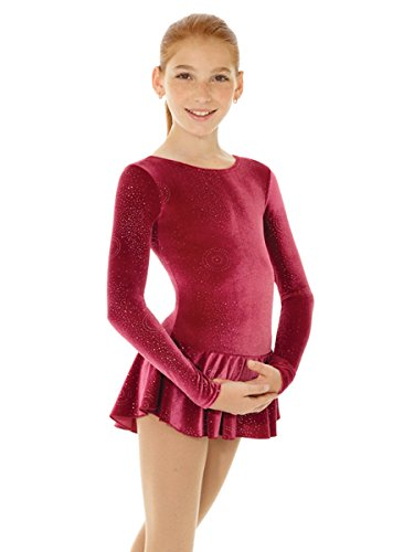 Mondor Born To Skate Glitter Velvet Dress