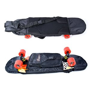 NoRules Skateboard Bag Skateboarding Adjustable Shoulder Bag Backpack for 28 inch to 31.5 inch Skateboard