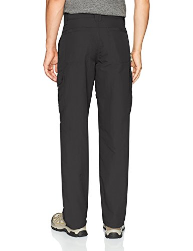 Wrangler Men's Authentics Outdoor Performance Nylon Cargo Pant Relaxed Fit  Sits at regular waist  Relaxed situate and thigh  Quick drying properties  2 side secure conclusion payload pockets and 1 side crease zip pocket