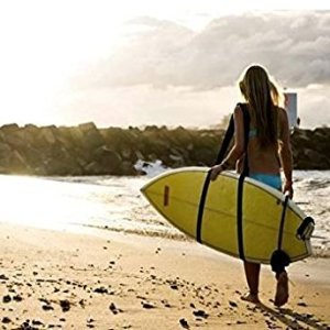 Adjustable Stand Up Paddleboard, Surfboard, Kayak, Wakeboard, Snowboard Shoulder Strap Sling Carrier