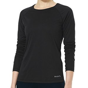 Baleaf Women's Long Sleeve Baselayer Workout Shirts