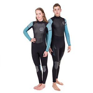 Seavenger Odyssey 3mm Neoprene Wetsuit with Stretch Panels for Snorkeling, Scuba Diving, Surfing in Mens and Womens Sizes