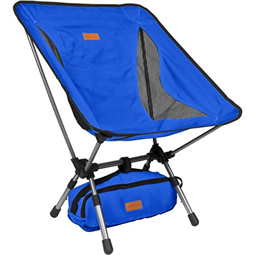 Compact Ultralight Folding Backpacking Chairs in a Carry Bag Trekology YIZI GO Portable Camping Chair with Adjustable Height - Compact Ultralight Folding Backpacking Chairs in a Carry Bag, Heavy Duty 300 lb Capacity, for Hiker, Camp, Beach, Outdoor.   COMFORT is KING! Planned considering you. YIZI GO brags (3) ADJUSTABLE HEIGHTS - reasonable for little children and grown-ups alike. Experience predominant lower back help extreme in comfort. Higher off the Ground. More profound Seat than similar items. Breathable side Mesh Panels take into account expanded Air Flow in hot and muggy conditions, keeping you Cooler.