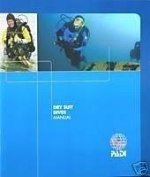 PADI Drysuit Diver Manual