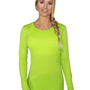 WoolX Remi - Women's Long Sleeve Tee - Lightweight, Moisture Wicking - Merino Wool Top