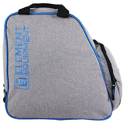 Element Equipment Boot Bag Snowboard Ski Boot Bag Pack 600D PVC Coated Polyester is waterproof, super intense, and keeps your apparatus dry.