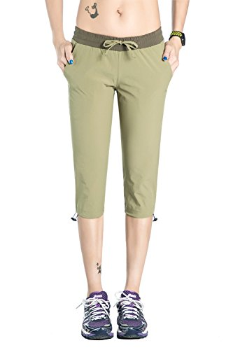 Nonwe Women's Quick Dry Hiking Shorts With a Leg Hem Cinch