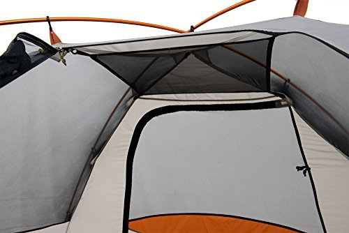 """ALPS Mountaineering Lynx 2-Person Tent There's no gathering dissatisfaction with our Lynx Tent arrangement; this detached, aluminum two-shaft configuration is a breeze to setup  Polyester tent fly opposes water and UV harm while including two vestibules for additional capacity space  Fully outfitted with #8 zippers, stockpiling stashes, equip hang, stakes, fellow ropes and two doorways  The ALPS Mountaineering Lynx Tent is on our hits show; it's an absolute necessity have for your next adventure  Base Size: 5' x 7'6, Center Height: 46"""", Total Weight: 5 lbs. 15 oz., Minimum Weight: 5 lbs. 4 oz."""