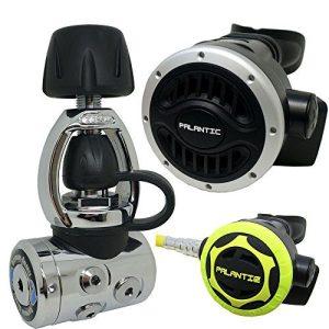 Palantic SCR-03-YOKE-NA-OC Scuba Diving Dive AS105 Yoke Regulator and Octopus Combo