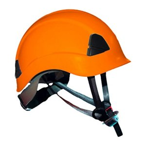 ProClimb Gem Work and Rescue ANSI Orange Helmet