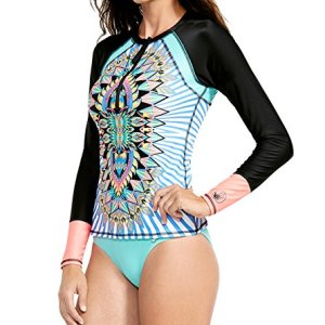 Body Glove Women's Look at Me Surfs Up Long Sleeve Rashguard