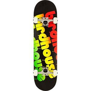 Birdhouse Triple Stack Complete Skateboard -8.0 Black/Rasta