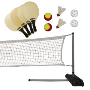 Lifetime Pickleball, Badminton, & Quickstart Tennis Net Set