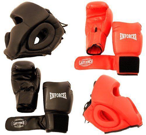 Pro Boxing Gloves & Pro Head Gears Pro