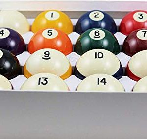 Standard Billiard/Pool Balls, Complete 16 Ball Set