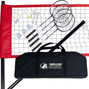 Park & Sun Sports Portable Outdoor Badminton Net System