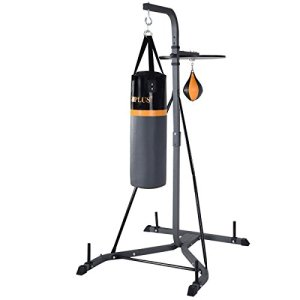 Punching Bag w/Stand 2 in 1 Hanger Wall Bracket