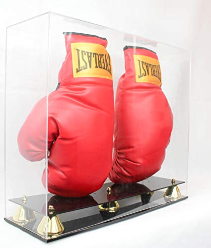 Boxing Glove Display Case Holder Showcase