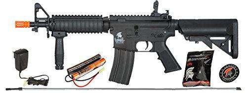AEG Field Metal Gears Airsoft Gun Rifle w 9.6v Battery & Charger