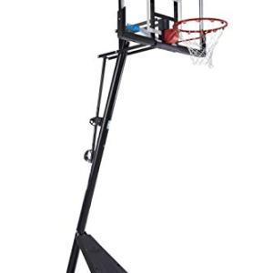 "Spalding Exclusive 50"" Acrylic NCAA Portable Basketball System"