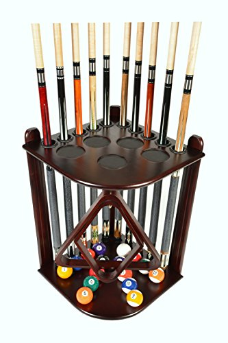 Billiard Stick & Ball Floor Rack