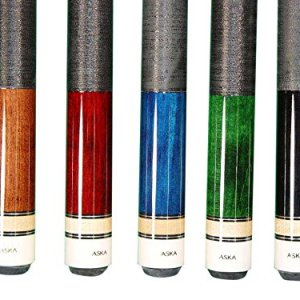Aska Set of 5 L2 Billiard Pool Cues