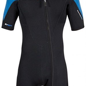 Thermoprene Pro Front Zip Shorty Wetsuit