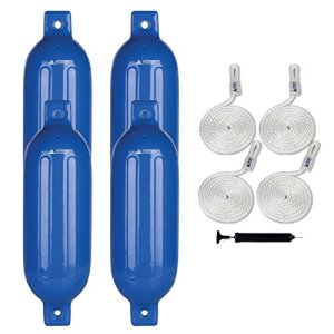 Fender Lines Pack of 4 and Pump to Inflate