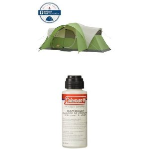 Coleman Montana 8-Person Tent, Green with Seam Sealer, 2-oz