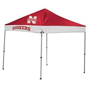 Coleman Camping NCAA Straight Leg Nebraska Canopy, 9 x 9'