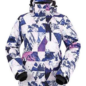 Andorra Women's Performance Insulated Ski Jacket with Zip-Off Hood