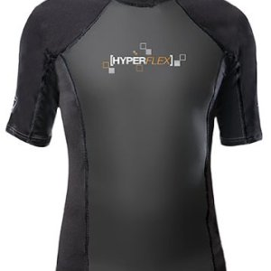 Hyperflex Wetsuits Men's Polyolefin 1.5mm 50/50 S/S Shirt