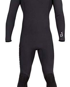Hyperflex Men's VYRL 4/3mm Front Zip Fullsuit Black