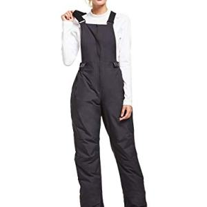 BALEAF Women's Ski Bib Insulated Overalls Snow Pant