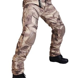 ZAPT Tactical Pants with Knee Pads Airsoft Camping Hiking Hunting BDU Ripstop Combat Pants 13 Kinds Army Camo Uniform Military Trousers