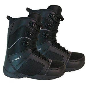 Symbolic Ultra Light Black Snowboard Boots Mens 7 8 9 10 11 12 13 14 15