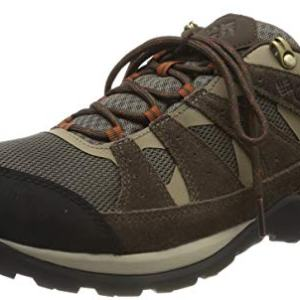 Columbia Men's Redmond V2 Waterproof Hiking Shoe, Breathable Leather