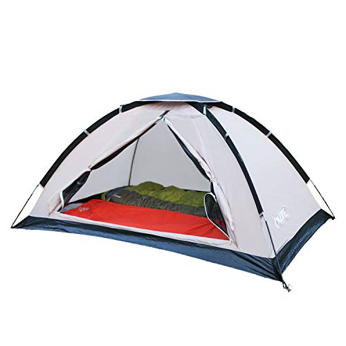 CMARTE 2 Person Single-Layer Tent Windproof Waterproof Sunshade Insect-Proof Breathable net - Camping Fishing - Easy to Install