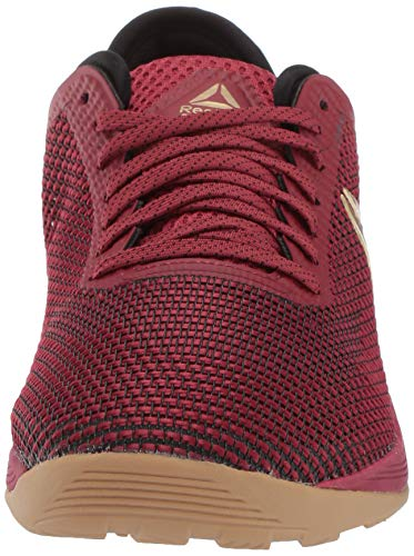 Reebok Women's CROSSFIT Nano 8.0 Flexweave Cross Trainer Cushioned sole. New heel bootie construction provides ultimate performance comfort  Lightweight and breathable  Forefoot flex grooves for flexibility  Low-cut design for added mobility  Toe Tection provides durability in the toe area for high intensity workouts