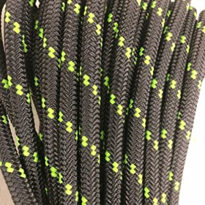 Double Braid Polyester Arborist Rope 3/4, Charcoal