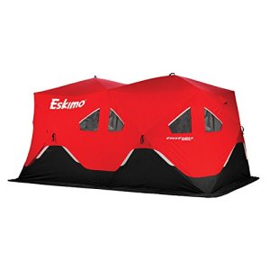 Eskimo FF9416 FatFish Pop-up Portable Ice Shelter, 7-9 Person