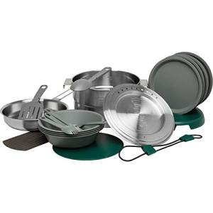 Stanley Accessories Adventure Full Kitchen Base Camp Cook Set Stainless Steel One Size