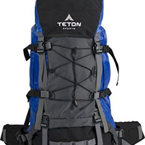 TETON Sports Fox 5200 Internal Frame Backpack; High-Performance Backpack for Backpacking, Hiking, Camping