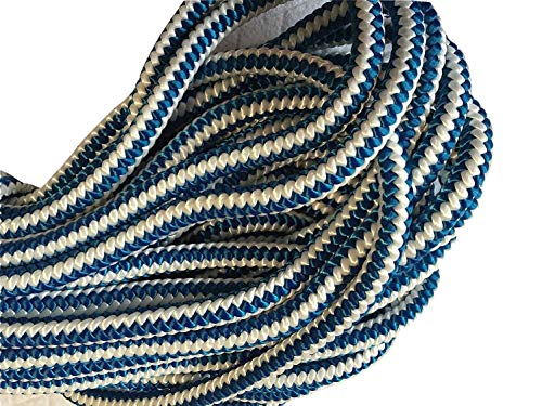 1/2 Inch by 120 Feet, 12 Strand Polyester Blue Ox Arborist Climbing Rope